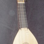 13-course Theorbo with swan head